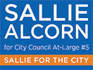 Sallie Alcorn for City Council At-Large – Houston TX Logo