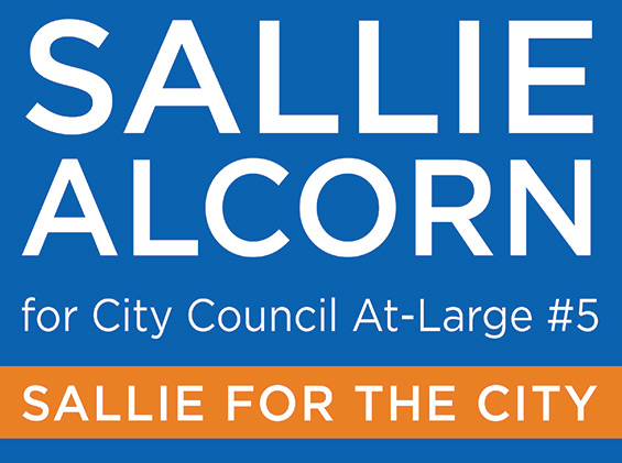 Sallie Alcorn for City Council at large #5